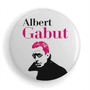 Badge célébrité La Rochelle Albert Gabu
