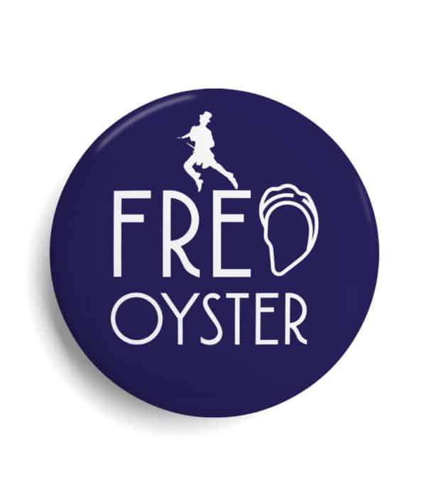 Badge célébrité Fred Oyster