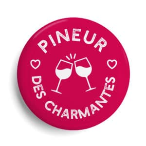 badge Charente Maritime Pineur des charmantes