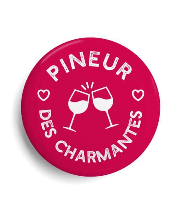 badge Charente Maritime Pineur des charmantes