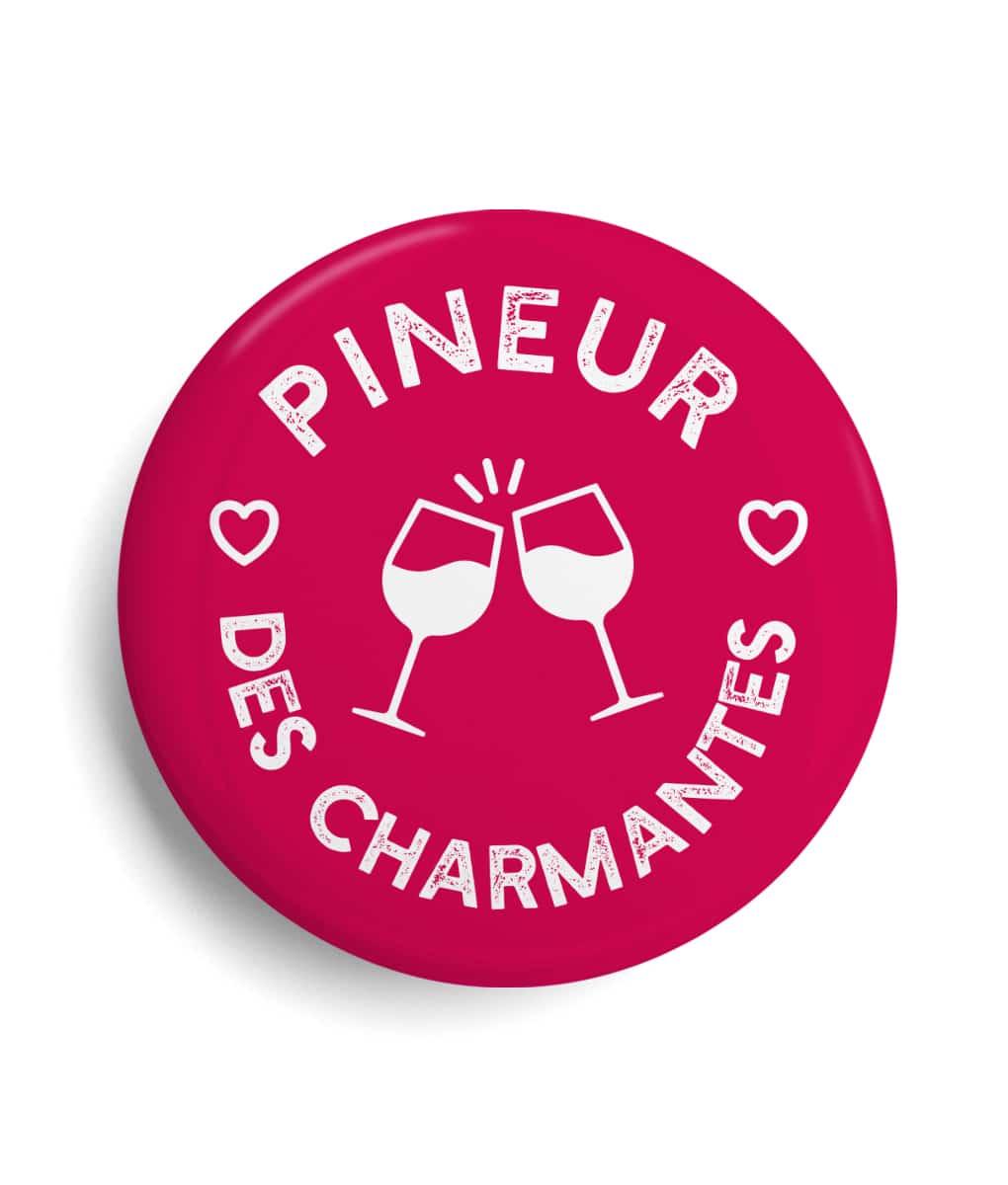 Badge Pineur des charmantes Region Nouvelle Aquitaine