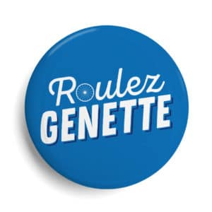 Badge La Rochelle Roulez Genette
