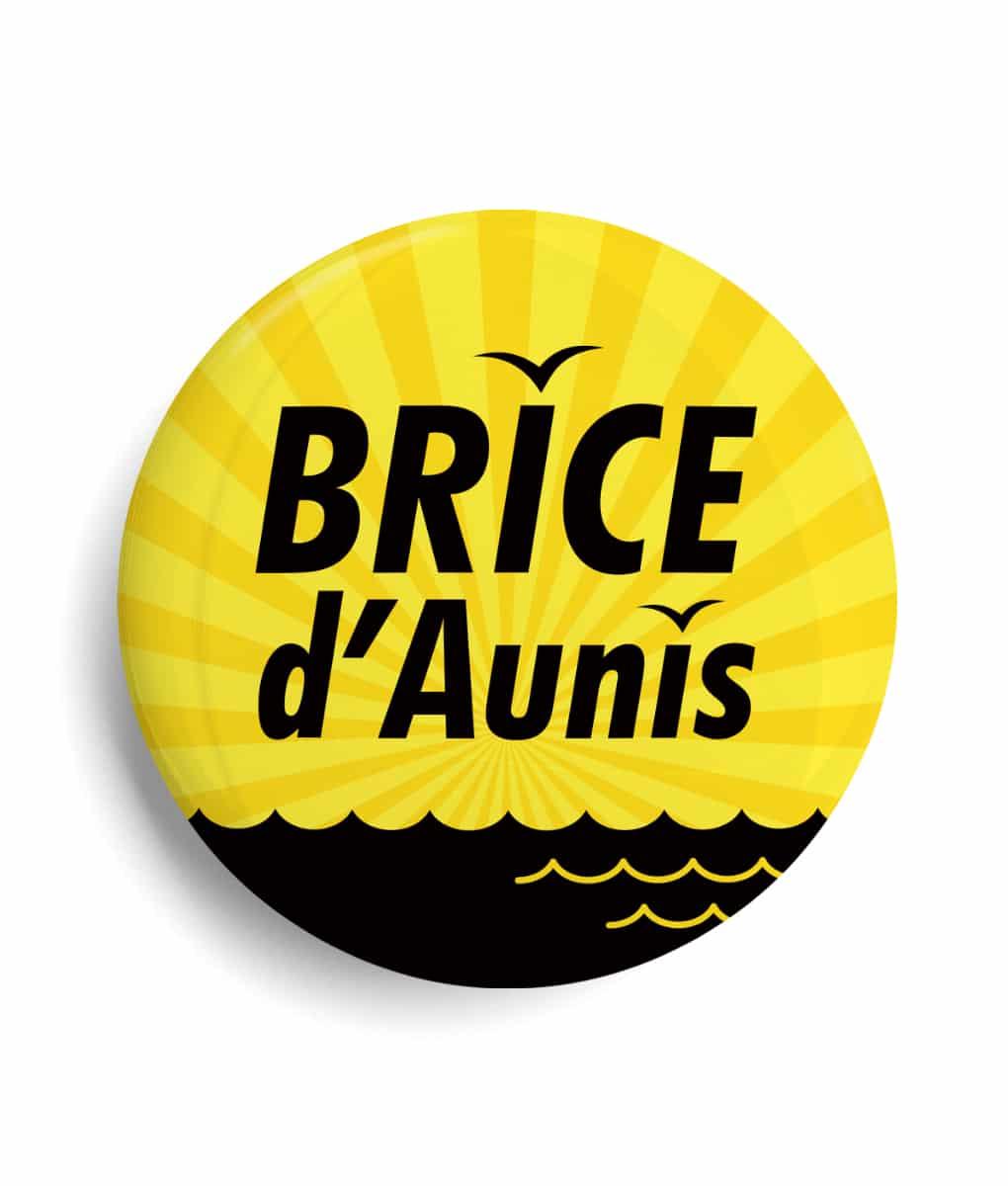 Badge célébrité Brice d'Aunis
