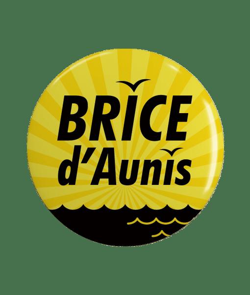 Badge célébrité Nouvelle Aquitaine Brice d'Aunis