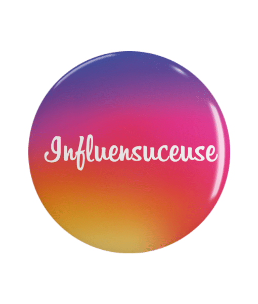Badge Geek Instagram Influensuceuse