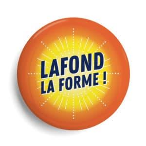 Badge La Rochelle quartier Lafond la forme !
