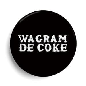 Badge Paris Wagram de coke