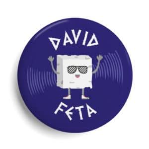 Badge célébrité Dj David Féta