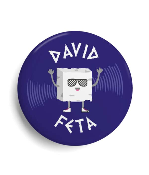 Badge célébrité Dj David Féta