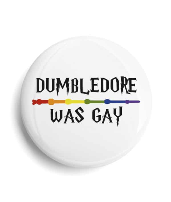 Badge LGBT Dumbledore was gay