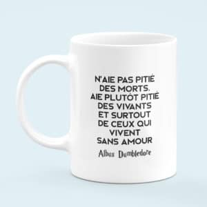 Mug céramique Dumbledore was gay citation