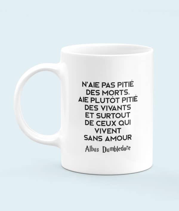 Mug céramique Dumbledore was gay citation