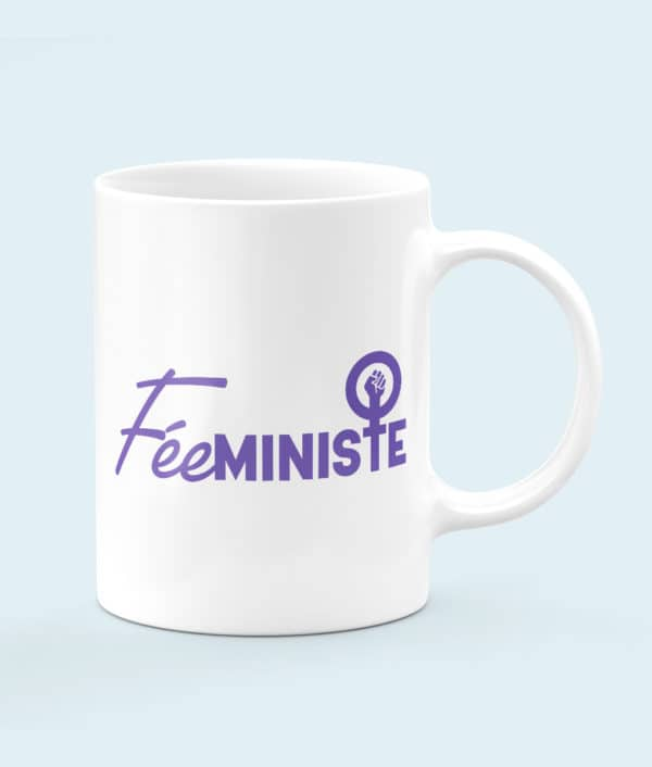 Mug céramique féeministe