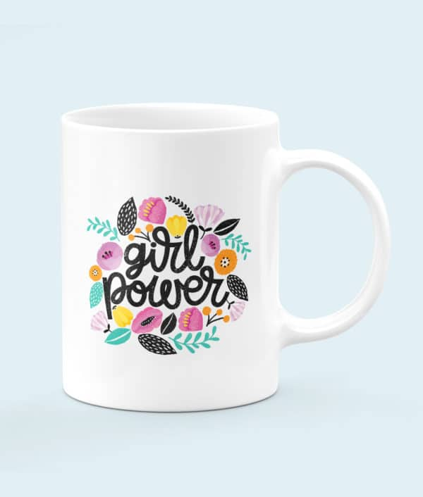 Mug céramique Girl Power