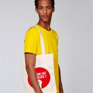 Mise en situation Tote Bag Mais que fait la pallice !