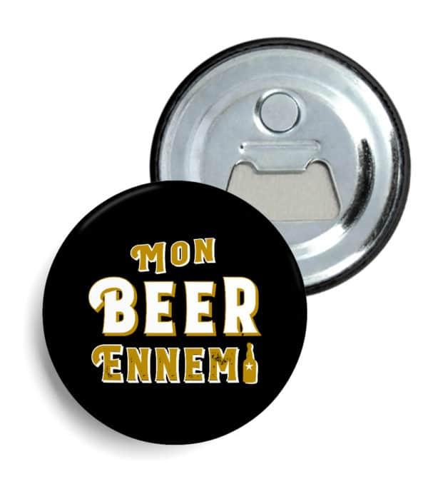 Décapsuleur magnétique Mon beer ennemi